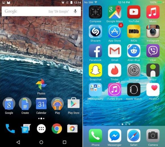 iOS 9 ile Android M Karşılaştırması
