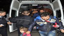 94 Suriyeli göçmen yakalandı