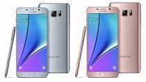 Galaxy Note5'e de pembe renk geldi